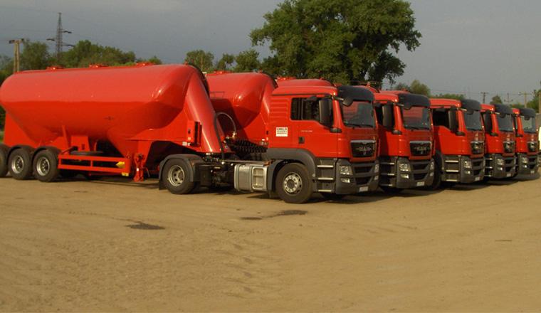 Szóródó anyag szállítás